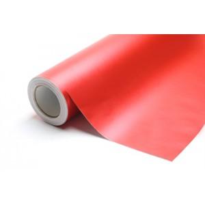 Chromovaná červená polepová fólie 152x500cm - interiér/exteriér