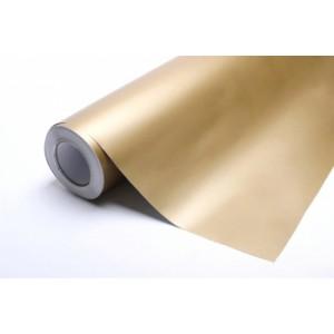Matná zlatá polepová fólie 152x300cm - interiér/exteriér