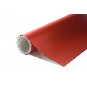 Matná chromovaná červená polepová fólie 152x1500cm - interiér/exteriér_1