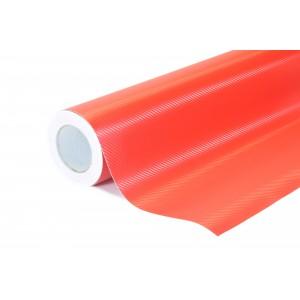 3D Karbonová červená polepová fólie 152x100cm - interiér/exteriér_1