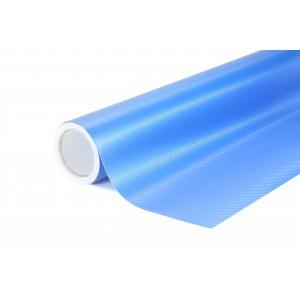 3D Karbonová modrá polepová fólie 152x200cm - interiér/exteriér_1