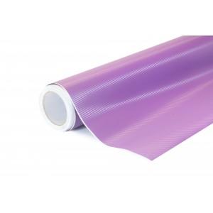 3D Karbonová fialová polepová fólie 152x2000cm - interiér/exteriér_1