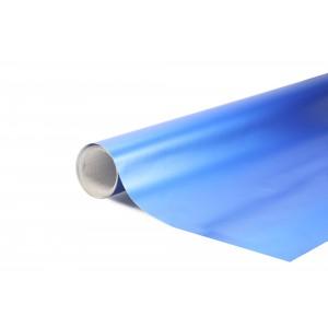 Matná hedvábná perleťová modrá polepová fólie 152x500cm - interiér/exteriér_1