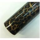Imitácia kože leopard čierny polepová fólia 152x700cm - interiér/exteriér