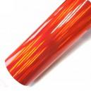 Duhová chromovaná červená polepová fólie 142x100cm - interiér/exteriér_1