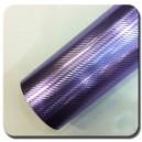 4D Karbonová chromovaná fialová polepová fólie 152x200cm - interiér/exteriér_1
