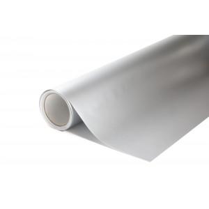 Matná hedvábná stříbrná polepová fólie 152x50cm - interiér/exteriér_1